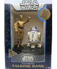 Star Wars C-3PO and R2-D2 Electronic Talking Bank from 1995