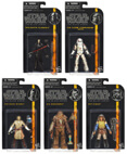 Star Wars Black Series Wave 3 - Set of 5 Action Figures