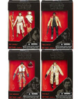 Set of 4 (Finn, Rey, Poe and Han) - The Black Series 3.75""