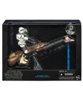 Speeder Bike with Biker Scout - Black Series 6 inch