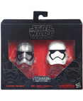 Phasma & Stormtrooper Helmets - The Black Series Titanium #02
