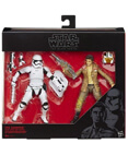 Poe Dameron and Riot Control Stormtrooper Black Series 6 inch