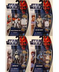 Clone Wars Wave 2 - Set of 4 Figures
