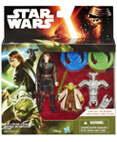"Revenge of the Sith 2-Pack 3.75"" Anakin Skywalker and Yoda"