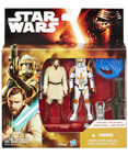 "Revenge of the Sith 2-Pack 3.75"" Obi-Wan and Commander Cody"