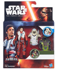 Epic Battles Poe Dameron Armor Up action figure 3.75