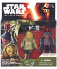 "The Force Awakens 2-Pack 3.75"" - Sidon Ithano and Quiggold"