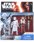 "The Force Awakens 2-Pack 3.75"" - Snowtrooper & Snap Wexley"