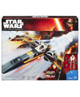 Poe's BLACK X-Wing Fighter with Poe Dameron Action Figure