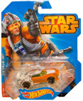 Hot Wheels Star Wars Character Car - Luke Skywalker