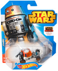 Hot Wheels Star Wars Character Car - Rebels Chopper