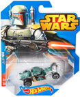 Hot Wheels Star Wars Character Car - Boba Fett