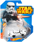 Hot Wheels Star Wars Character Car - Stormtrooper