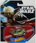 Hot Wheels Star Wars Character Car - Yoda