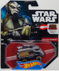 Hot Wheels Star Wars Character Car - Garazeb Orrelios