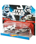 Hot Wheels Character Car 2-Pack First Order Stormtrooper& Phasma