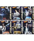 Hot Wheels Star Wars Pop Culture - Complete Set of 6