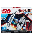First Order Special Force TIE Fighter & Fighter Pilot (non-mint)
