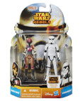 Sabine Wren and Stormtrooper - MS08 (Non-Mint)