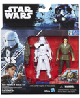 Snowtrooper Officer and Poe Dameron Deluxe 2-pack (non-mint)