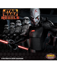 Star Wars Rebels 2015 Wall Calendar 16-Month