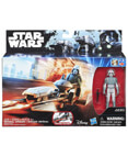 Imperial Speeder with AT-DP pilot Action Figure Rebles