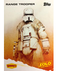 Range Trooper A Star Wars Story Card Denny's Topps