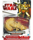 Battle Droid Commander to Armored Assault Tank - Transformers
