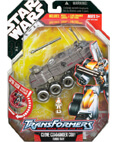 Clone Commander Cody - Turbo Tank - Transformers