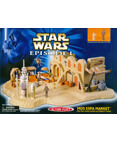 Star Wars Episode 1 - Mos Espa Market - Micro Machines