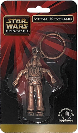 Star Wars Jar Jar Binks Keychain From Episode I