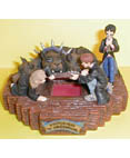 Harry Potter - Through the trapdoor figurine