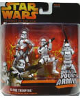 Clone Troopers - includes 3 different troopers - Red