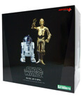 R2-D2 & C-3PO ArtFX 1/10 Scale Pre-Painted Model kit