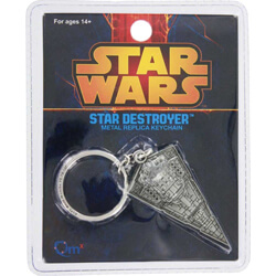 Star Wars Star Destroyer Metal Replica Keychain