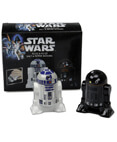 Salt and Pepper Shakers - R2-D2 and R2-Q5