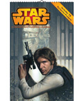 Star Wars Saga 2015 Oversized Wall Calendar 16-Month