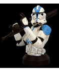 Clone Trooper Deluxe Collectible Bust Blue Version ROTS