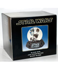 Star Wars Slave 1 - Jedi Starfighter Snow Globe