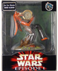 Jar Jar Binks Mini Clock - Star Wars Episode 1