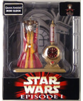 Queen Amidala Mini Clock - Star Wars Episode 1