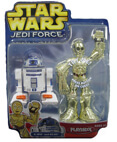 Jedi Force Figure R2-D2 and C-3PO - Playskool