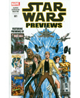 Marvel Star Wars Previews Comic