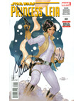 Marvel Star Wars Princess Leia #1 Signed Mark Waid