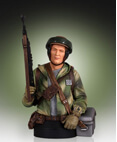 Endor Rebel Trooper Collectible Mini Bust