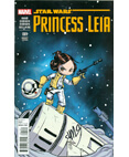 Marvel Star Wars Princess Leia #1 Signed Skottie Young - #87/300