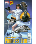 Marvel EXCLUSIVE: Princess Leia #1 Variant - #612/650