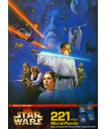 Star Wars 221 Piece Mural Puzzle Scene 1: A New Hope