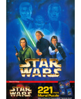 Star Wars 221 Piece Mural Puzzle Scene 4: Trilogy