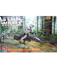 Star Wars Speeder Bike Flight Display Model Kit